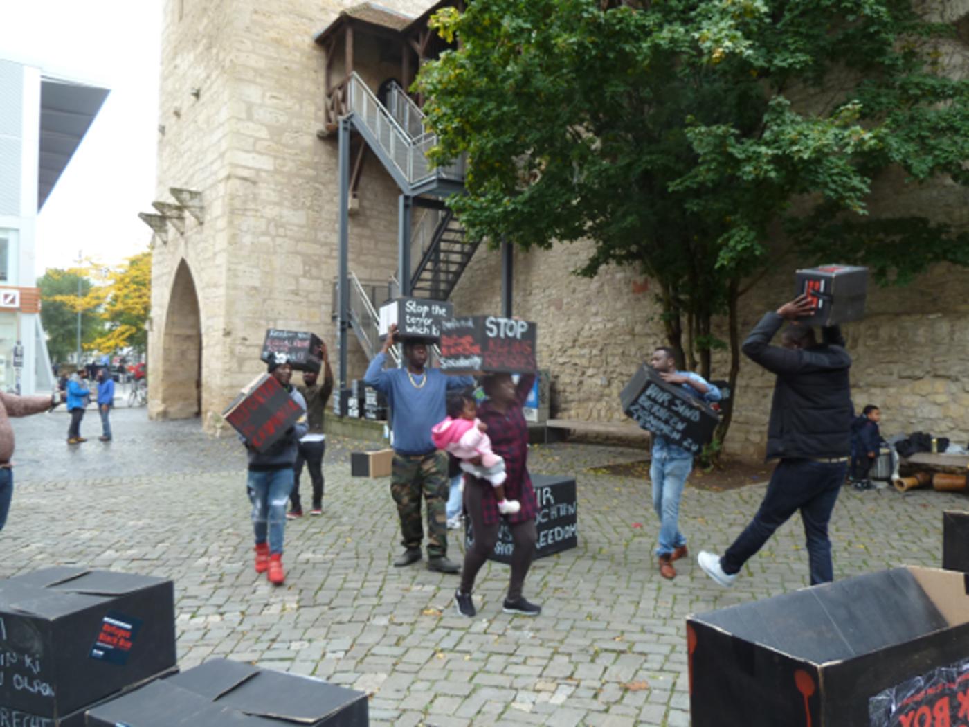 Kundgebung am Faulloch mit Musik und Tanz