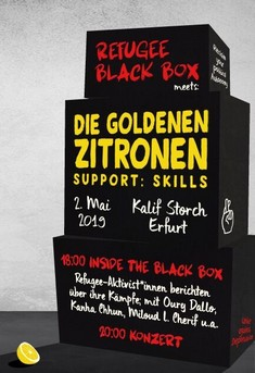 Black Box meat Goldene Zitronen