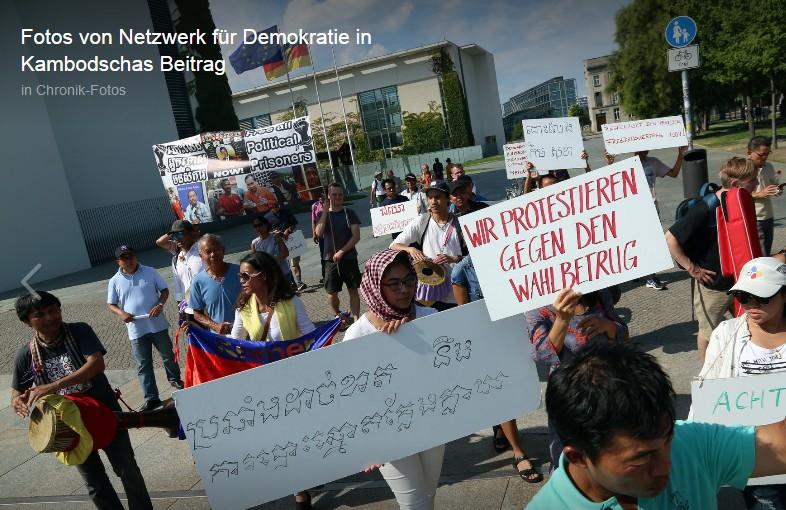 Netzwerk für Demokratie in Kambodscha
