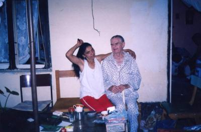 Radmila Anic und ihr Ehemann Zdravko, geb. im Jahr 1911, auf dem Foto aus 2003.