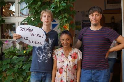 Offene Arbeit Radmila bleibt alle bleiben